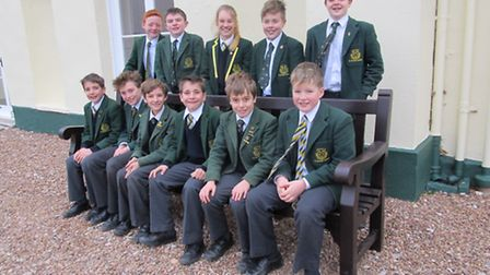 St Peter's Prep School pupils who passed the 2017 Exeter School entrance exam