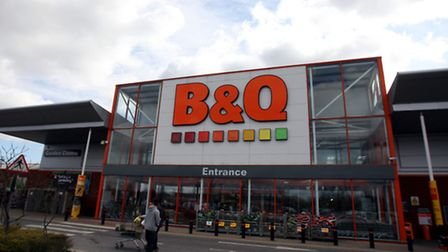 File photo dated 1/4 10 of a general view of the B&Q store in Hayes, as the DIY chain saw spring sal