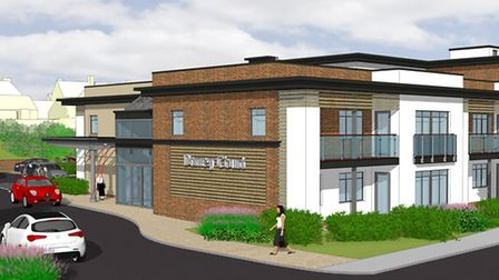 Image of proposed retirement flats at the site of Davey Court, approved by East Devon District Counc
