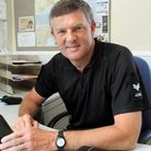 Sergeant Andy Squires. Picture by Alex Walton. Ref shs 6983-28-13AW