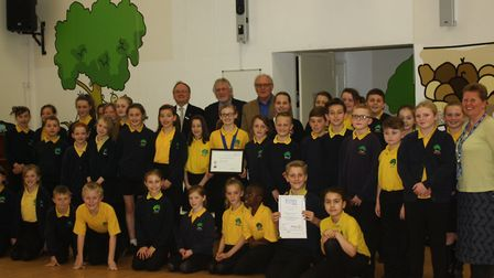 Marpool Primary School's RotaKids club has received a national award.