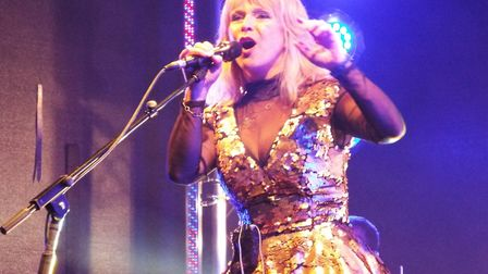 Toyah Willcox at the Exmouth Festival 2017. Picture: Paul Strange.