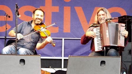 Belshazzar's Feast at the Exmouth Festival 207. Picture: Paul Strange.