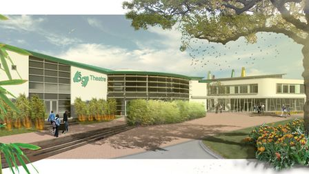 Image of Exeter Deaf Academy's proposed redevelopment of the Rolle College site.