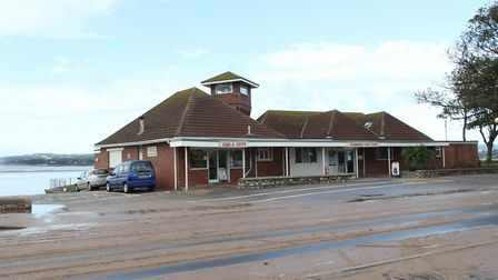 The seafront Harbour View Cafe. Ref exe 7820-41-14SH Picture: Simon Horn