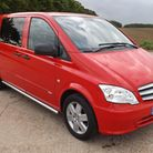 Mercedes-Benz Vito Sport is a more stylish version of the Dualiner passenger van.