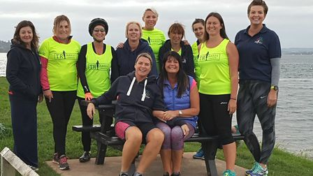 Women from Exmouth Tri-Hards group, which has spawned a similar group for men.