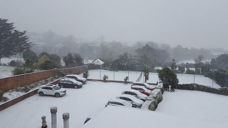 The view from Devoncourt Hotel. Picture: Jamie Dawe - Asistant Manager at Devoncourt