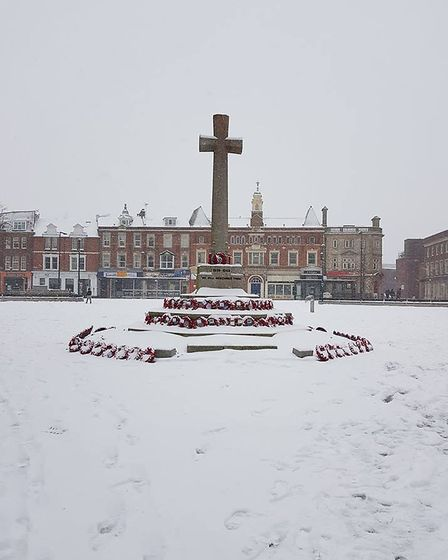 Beautiful photo of the War Memorial. Picture: Talitha White