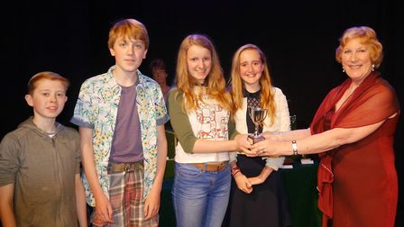 Flashback: One act play festival winners at the Blackmore Theatre 2015.