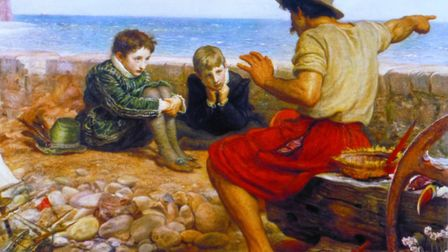Sir John Everett Millais's iconic painting 'The Boyhood of Raleigh' will be on display at Budleigh S