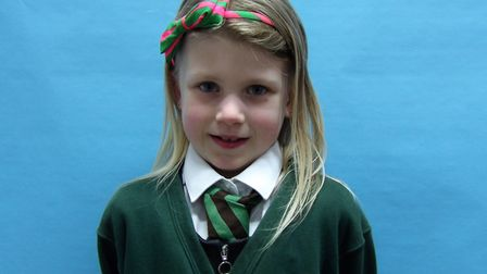 Seven year-old Olivia Rowe has taken on a 31-day De-Chox to raise money for the British Heart Founda