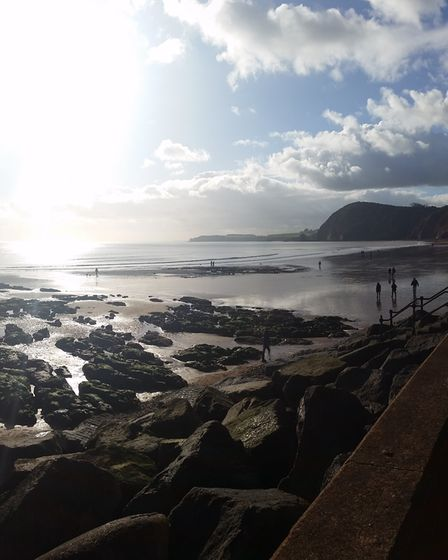 Sidmouth seafront. Picture: Ingrid Cawse