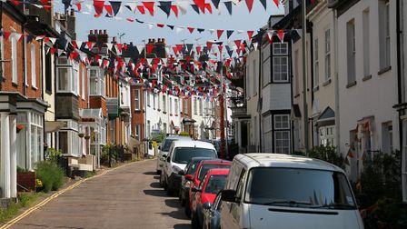 Bicton Street in the summer. Ref exe 22-16AW 9093. Picture: Alex Walton