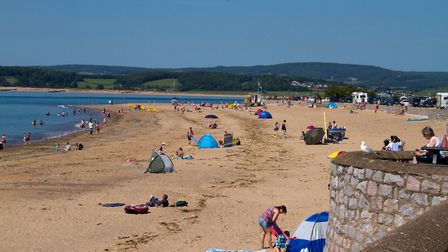 Exmouth beach. Ref exe 25 17TI 4718. Picture: Terry Ife