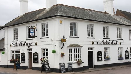 The Rolle Arms, East Budleigh. Photo by Simon Horn. Ref exf 7657-31-10SH