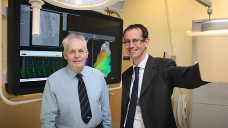 The opening of the Electrophysiology Suite at the Norfolk and Norwich University Hospital. David Spo