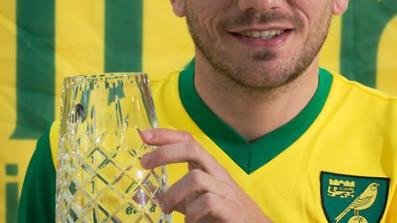 Norwich City's runner-up for player of the season, Robert Snodgrass. Photo: Bill Smith