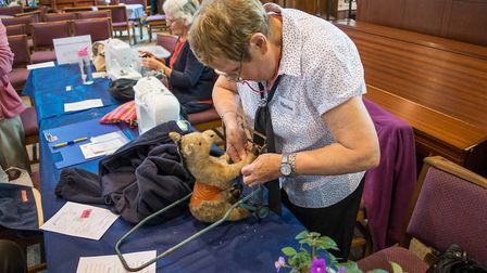 Exmouth Repair Cafe. Picture: Jean Holden