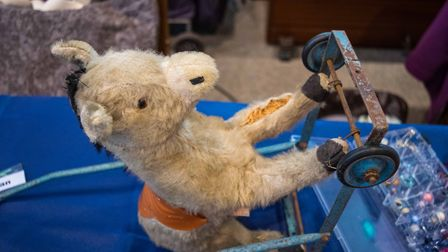 The donkey being repaired at Exmouth Repair Cafe. Picture: Contributed