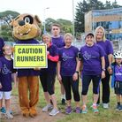 Exmouth parkrun turns purple for Exmouth Deaf Awareness Week. Picture: Deaf Academy