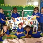 Youngsters at All Saints Pre-School in Exmouth have thanked everyone who has donated to them. Pictur