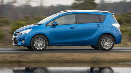 Toyota Verso is a family-friendly seven-seater compact multi-purpose vehicle.