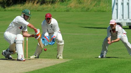 Nathan Perry-Warnes in action for Horsford. Picture: Simon Parker