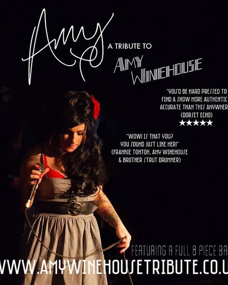 Amy Winehouse tribute. Picture: AMY