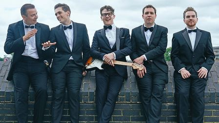 Buddy Holly and the Cricketers tribute. Picture: Alan Howard
