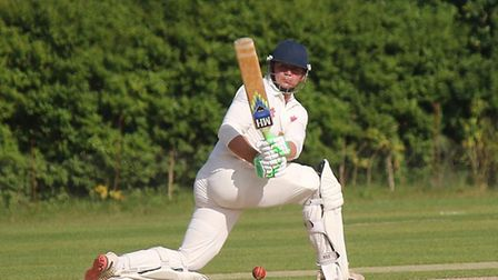 Miles Lenygon in action for Exmouth during the 2018 Tolchards Devon League campaign. Picture: TERRY