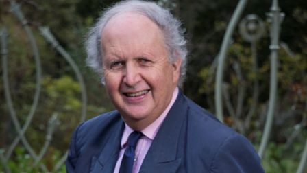 Best-selling author Alexander McCall Smith. Picture:Alex Hewitt