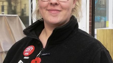 Have-a-go hero Daisy Mitchell, who fought off a hammer-weilding robber in Exmouth. Picture: Callum L