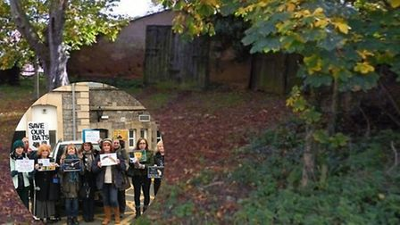A decision on the future of a bat habitat in The Pound, East Budleigh, has been deferred. Picture: G