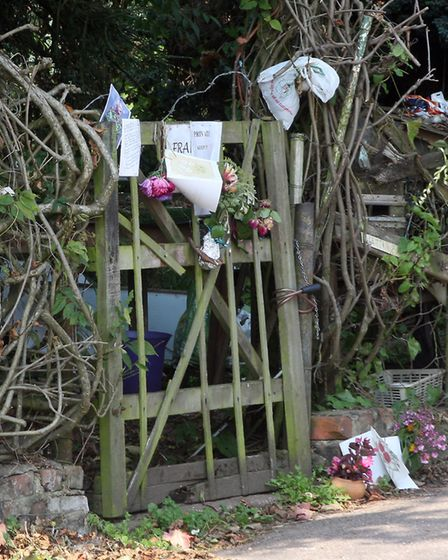 Frank Farrs Patch in East Budleigh. Photo by Terry Ife ref exv 0461-35-11TI Frank Farr Tributes exv