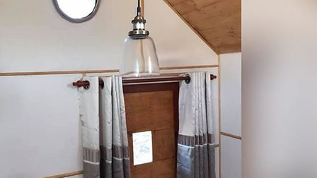 The interior of Paul Keating's tiny home. Picture: Paul Keating