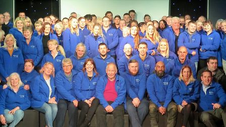 Ladram Bay Holiday Park staff at their annual conference. Picture: Ladram Bay Holiday Park