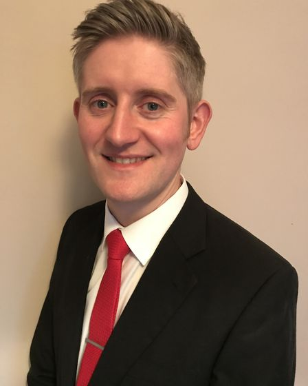 Daniel Wilson, Labour Party candidate for Exmouth Town ward. Picture: Labour Party
