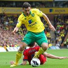 Robert Snodgrass was one of the Canaries' outstanding performers over the course of the Premier Leag