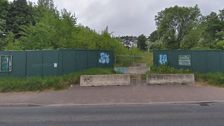 Land South of Redgate, near Tesco in Salterton Road, Exmouth, where it is proposed 59 retirement apa
