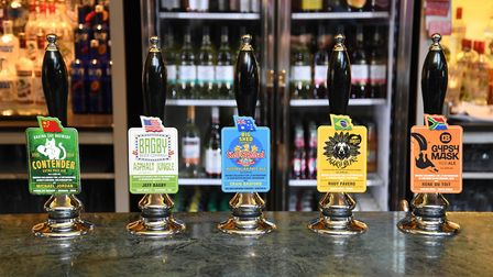 Plenty of beers to sample at the festival. Picture: Wetherspoons