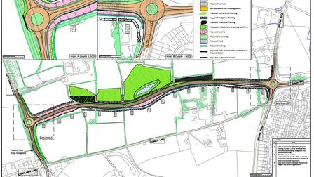 Proposal for the new Dinan Way link.