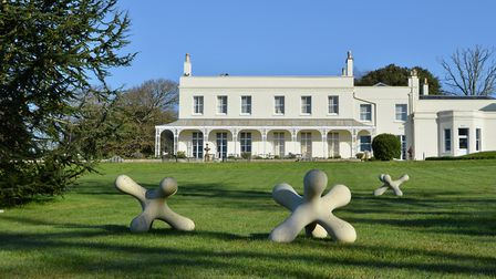 A sculpture park has opened at Lympstone Manor. Picture: Sauce Communications