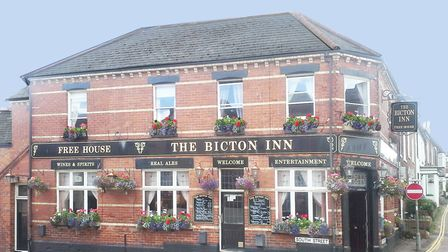 The Bicton Inn. Picture courtesy of The Bicton Inn