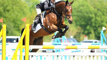 Competing in the CCI ** class at the Houghton International is Alex Postolowsky on Wutella. Picture: