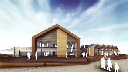 The new Exmouth Watersports Centre. Picture: Grenadier Estates