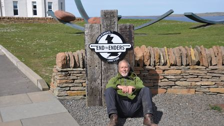 Builder Tim is tackling his second end to end challenge. Picture: FORCE
