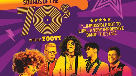 Sounds of the 70s with The Zoots. Picture: The Zoots