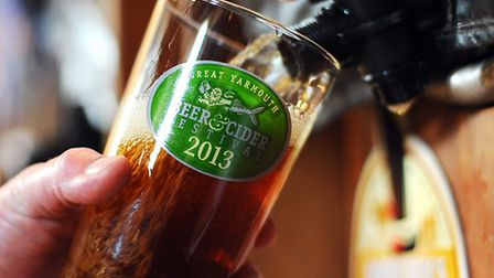 Great Yarmouth Beer and Cider Festival 2013 at St Georges Theatre.Picture: James Bass