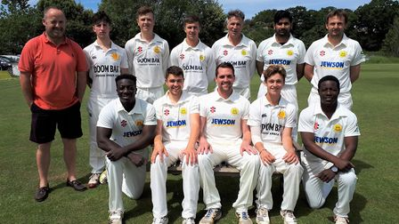 Budleigh Salterton 1st XI who are playing in the Tolchards Devon league A Division in 2019. Picture